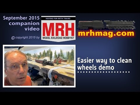 Easy way to clean wheels | Model railroad tips | Model Railroad Hobbyist | MRH