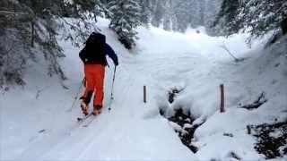 Skitour Wochenende Kleinwalsertal mit Bergrettung am Ende