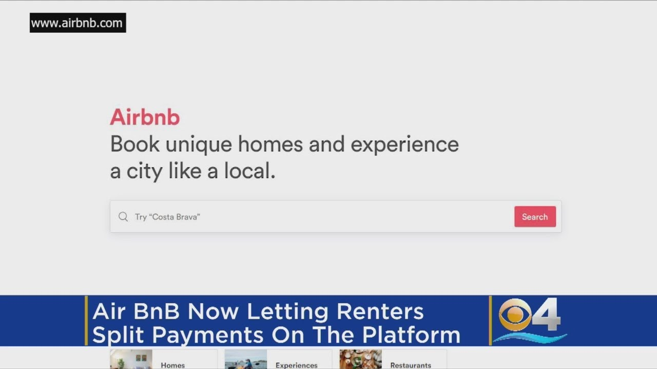 Airbnb Will Now Let You Split The Cost of Rentals