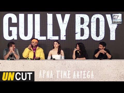 Gully Boy Trailer Launch UNCUT | Ranveer Singh | Alia Bhatt | 14th February | LehrenTV