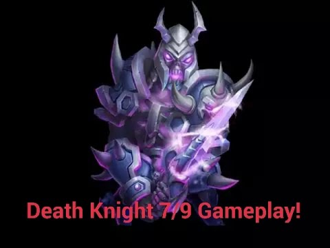 Castle Clash Death Knight 7/9 Gameplay!