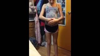 how to make a fake baby bump