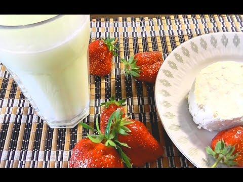 Как сделать сыворотку из молока в домашних