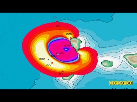Megatsunami Scenario - La Palma Landslide
