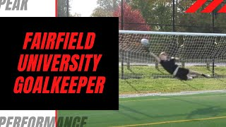 Goalkeeper Training: Fairfield University GK James Anderson