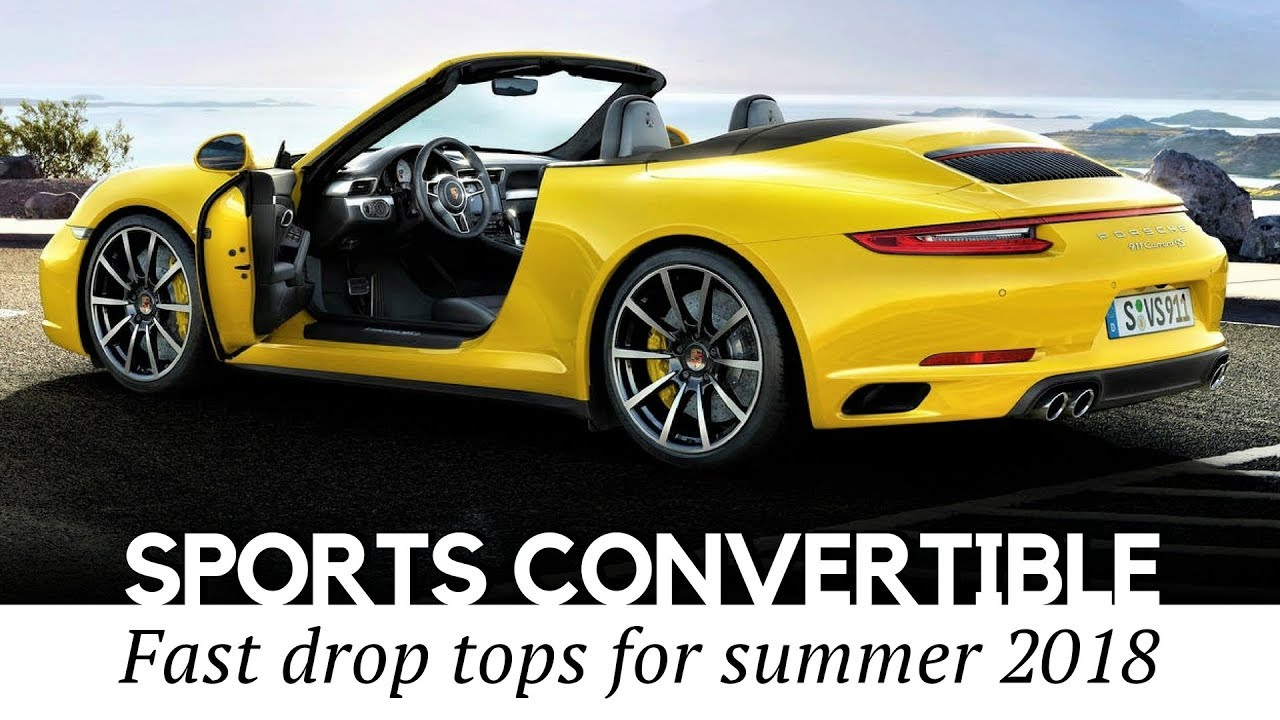 10 Sporty Convertibles And Cabriolet Cars To In 2018 Best Models Reviewed