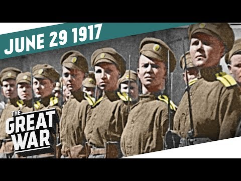 Russia's New Offensive - The Russian Women's Battalion of Death I THE GREAT WAR Week 153
