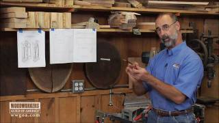 Woodworker's Guild Of America - Shop-made Base Molding Using Klockit's Grandfather Clock