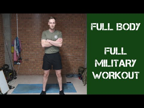 Military Full Body Home Workout | British Army Fitness