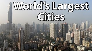 Top 5 Largest Cities In The World - 2014