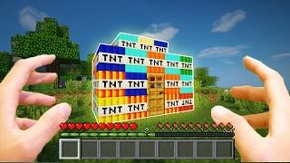 РЕАЛИСТИЧНЫЙ МАЙНКРАФТ ~ ДОМ ИЗ 50 ВИДОВ ТНТ / REALISTIC MINECRAFT TOP 5 DIFFERENT KINDS OF TNT
