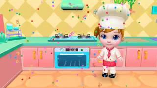 KIDS TV Little Fun Cooking Cake | Kidstv Educational Cartoon Games