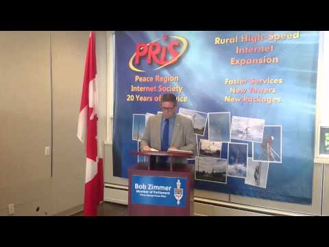 PRiS  - MP Bob Zimmer Announcement
