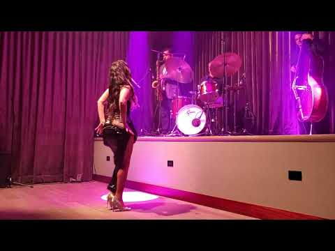Lola Von Rox Performing For RanCanCan Burlesque