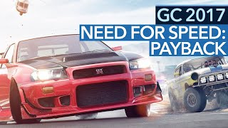 Need for Speed: Payback - Gamescom-Demo im Video: EA hat uns versehentlich zu viel gezeigt