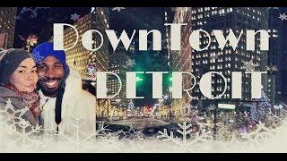 Жизнь в США: Downtown Детройт перед Новым 2014 Годом :) #Detroit
