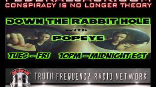 Down The Rabbit Hole w/ Popeye (10-15-2013) D.B. Cooper, Punished For Doing Good & EBT Card Riots