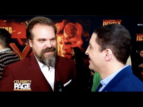 Talking 'Hellboy' With David Harbour | Celebrity Page