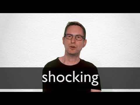 Shocking Synonyms | Collins English Thesaurus