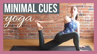 Stretch hips & hamstrings with this 45 min intermediate to advanced...