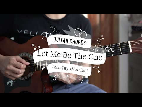 Let Me Be The One - Jimmy Bondoc (Guitar Tutorial) HD