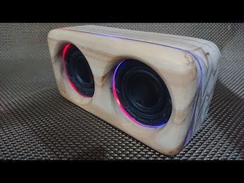 D.I.Y Bluetooth Speaker and LED lights