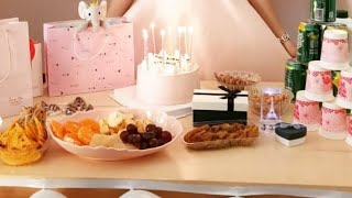 |DIY Birthday decoration Ideas| Wall and Table decoration|