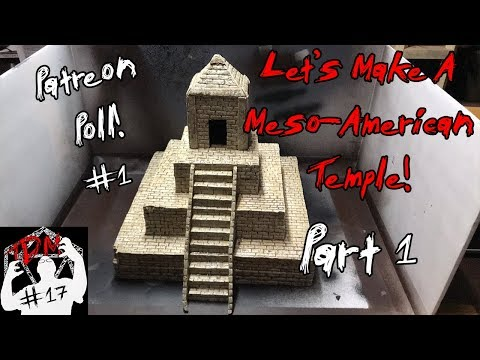🏛 Tutorial: Ziggurat/Temple For D&D And Tabletop Gaming🏛 | Part 1 | (TheDungeonMattster #17)