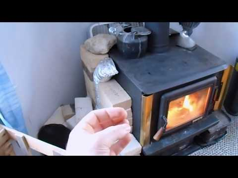 Woodstove DIY - Tips and Tricks for MORE HEAT!