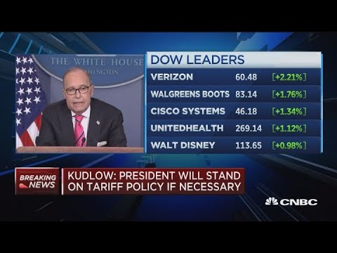 White House's Kudlow says US economy can handle trade fight with China