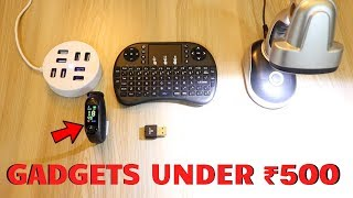 Unique Gadgets Under Rs500 | Part 37 | Tech Unboxing 🔥