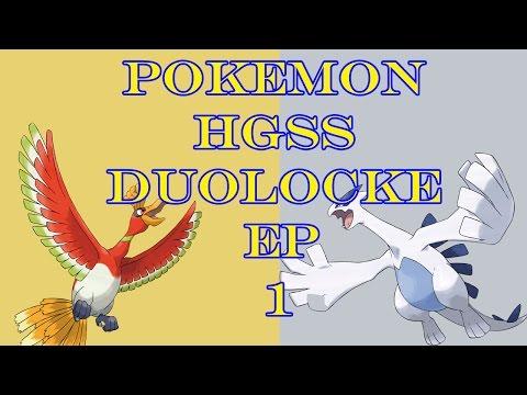 Pokemon HGSS Duolocke Randomizer Episode 1 - Let's get started!
