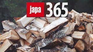 Jak EFEKTYWNIE łupać drewno? || Piło łuparka JAPA 365 i 315 || Okiem ZULa