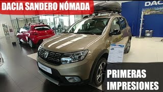 Nuevo DACIA SANDERO NOMADA Stepway. Primeras impresiones, Review.