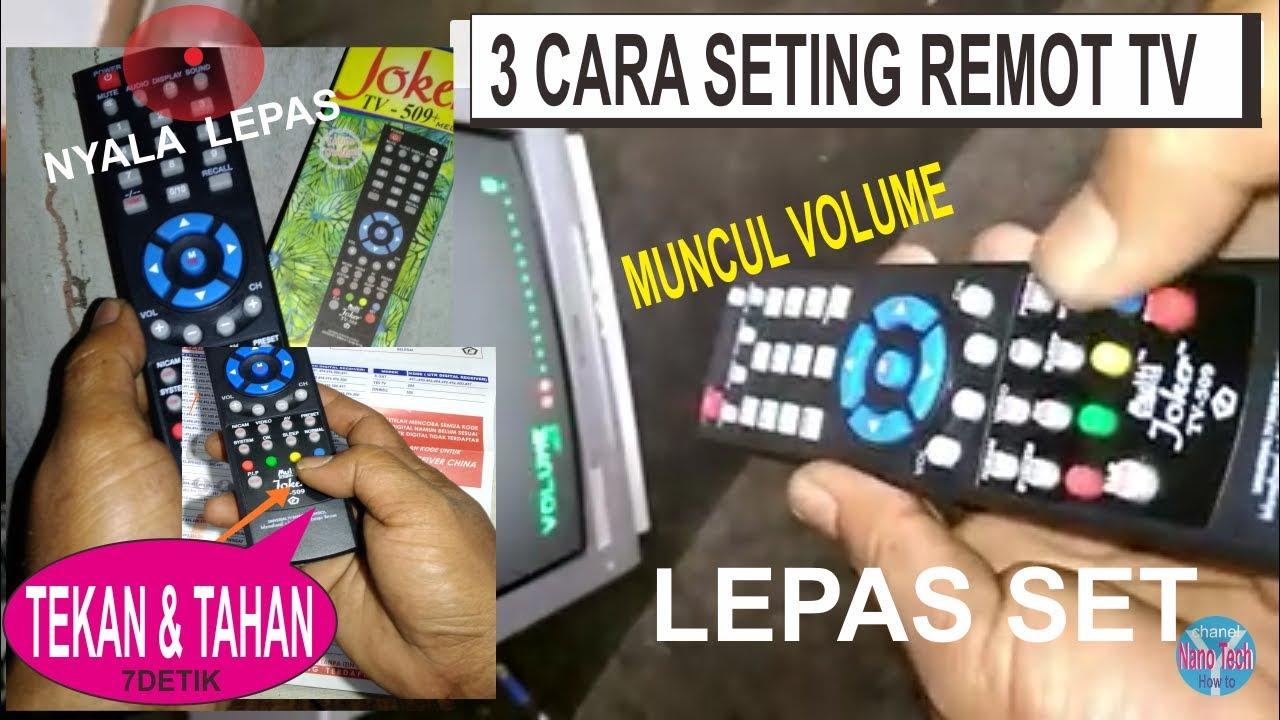 3 Seting Remot Tv Multi Universal Youtube