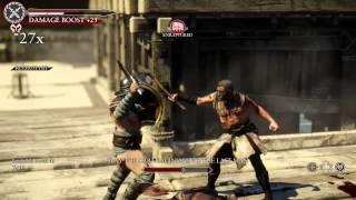 Ryse: Son of Rome solo clip gladiator mode