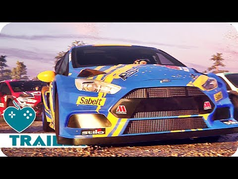 V-Rally 4 Trailer (2018) PS4, Xbox One, PC, Switch Game