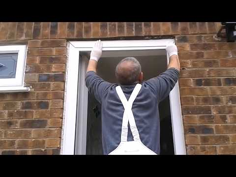 How To Fix A Loose UPVC Door Frame