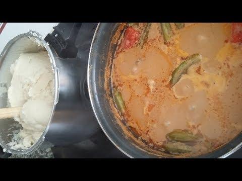 Ghana Traditional Groundnut/Peanut Soup