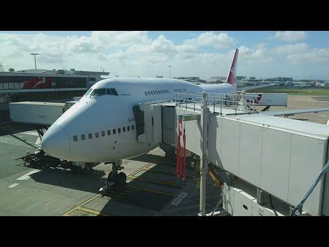 Flight Report | Qantas | B747-400ER | VH-OEE | Sydney [SYD] - Santiago [SCL]
