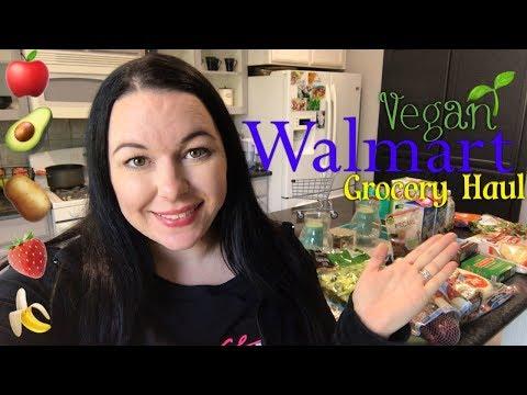 Vegan Grocery Haul!   Walmart (In Store)   Prices Shown!!   October 2017