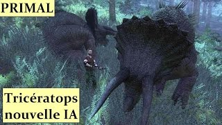 THE HUNTER PRIMAL Tricératops nouvelle IA HD 1080p FR