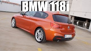 BMW 118i F21 (ENG) - Test Drive and Review