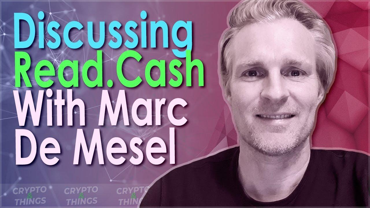 ▶️ Discussing Read.Cash & BCH With Marc De Mesel | EP#338
