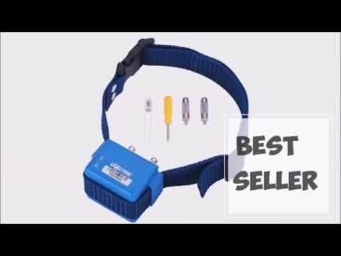 Collier Anti Aboiement Electrique Dogtek Model Bc 60 Youtube