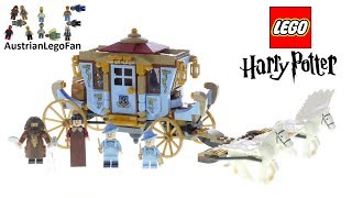 Lego Harry Potter 75958 Beauxbatons Carriage Arrival At Hogwarts Lego Speed Build Review