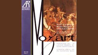A Musical Joke (Ein Musikalischer Spass) K.522: III Adagio Cantabile