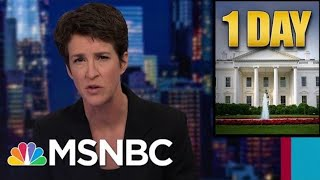 'Worst President In American History': Trump Term Ends Under A Cloud, In Calamity | Rachel Maddow