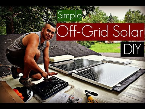 DIY Off Grid Solar Panel System Install (How To)| Simple, Easy, Affordable | RV Renovations