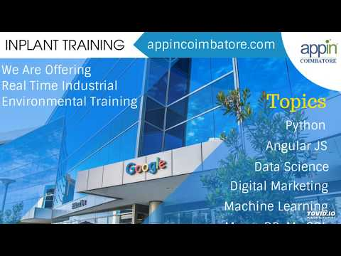 Appin provides In Plant training in Coimbatore for college students